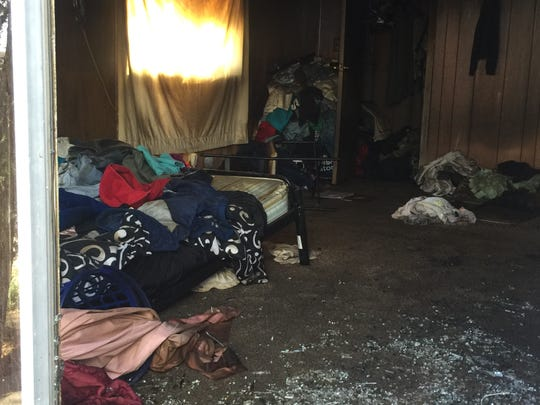A family lost everything they own in a mobile home fire Tuesday, March 5, from clothes, shoes, toys, dishes, furniture and food.