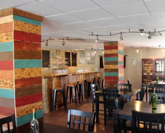 The interior of Tall Pines Beer and Wine on White Sands Boulevard.