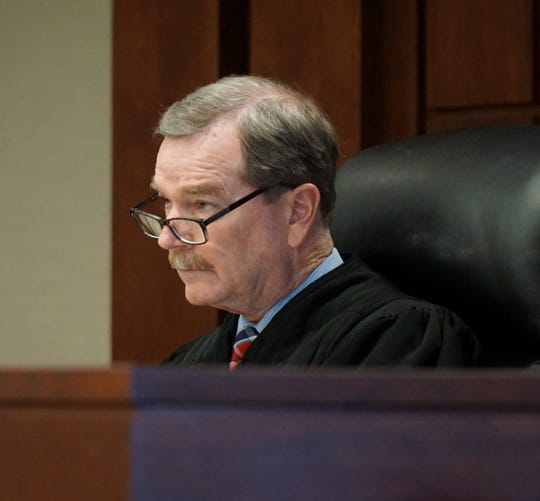 Judge Sean Kavanagh delayed the preliminary exam of Sean Ragland on March 7 in his Livonia courtroom.