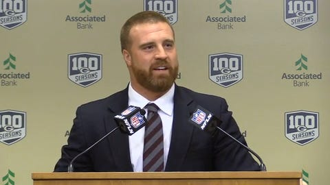 Former Packers' fullback John Kuhn discusses how fans' cheers made him feel special.