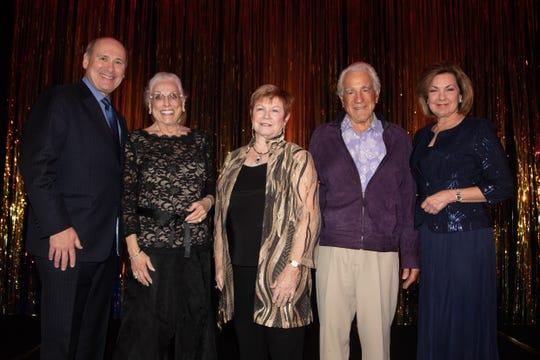 Mitch Gershenfeld, Sandra Woodson, Brooke Koehler, Gene L. Biggi and Betty Wolf.