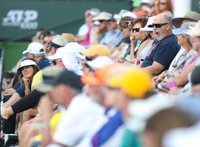 Tennis fans will attend the BNP Paribas Open this year for the first time since March 2019.