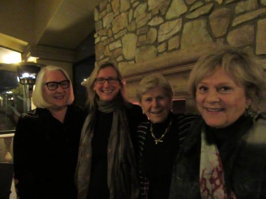 Nancy Cunningham, Christina Lynch, Lola Hagadone and Donivee Nash.
