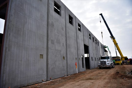 "The state-of-the-art facility will add locker rooms, a glass ""think tank"" and several labs dedicated to a variety of fields including plastics, robotics, welding, construction production, metal fabrication and electrical production."