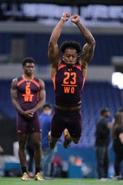 Former Arizona State wide receiver N'Keal Harry could be a first round NFL pick.