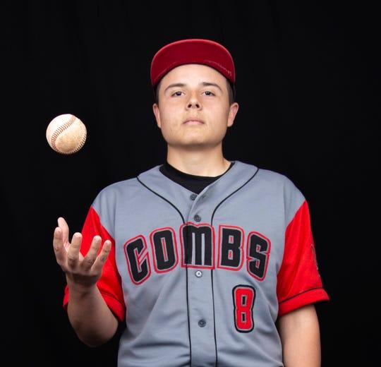 San Tan Valley Combs second baseman Rey Meza