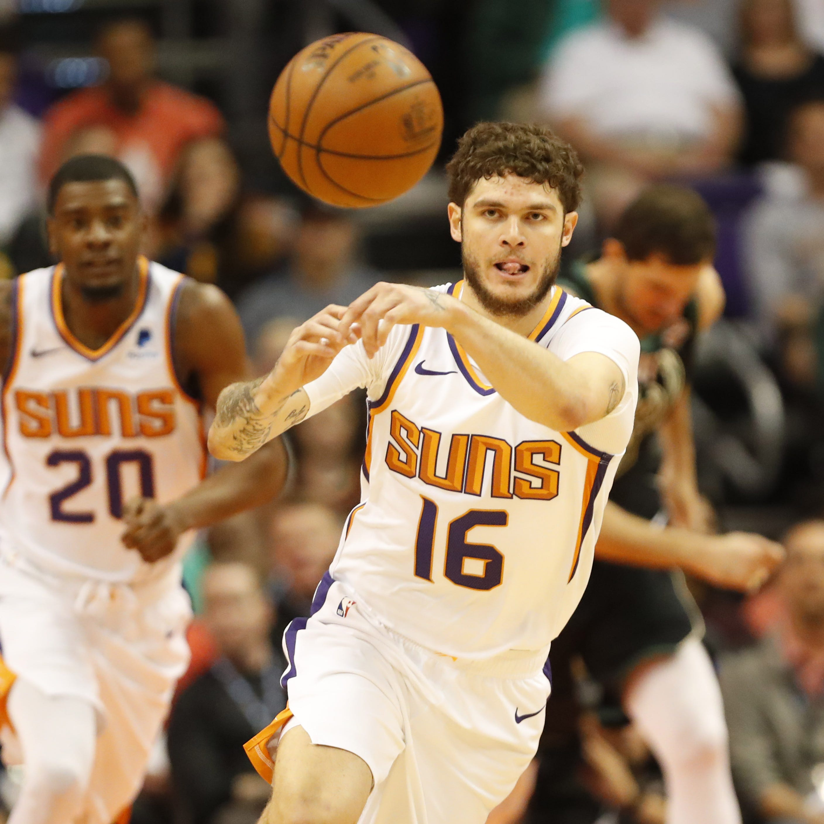 In just one month, point guard Tyler Johnson adding stability to Suns