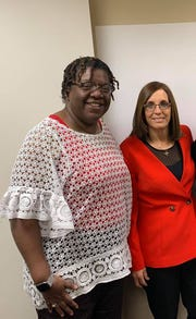 Kathryn Smith was among a group of veterans who met with Sen. Martha McSally on Feb. 28 about sexual assault in the military.