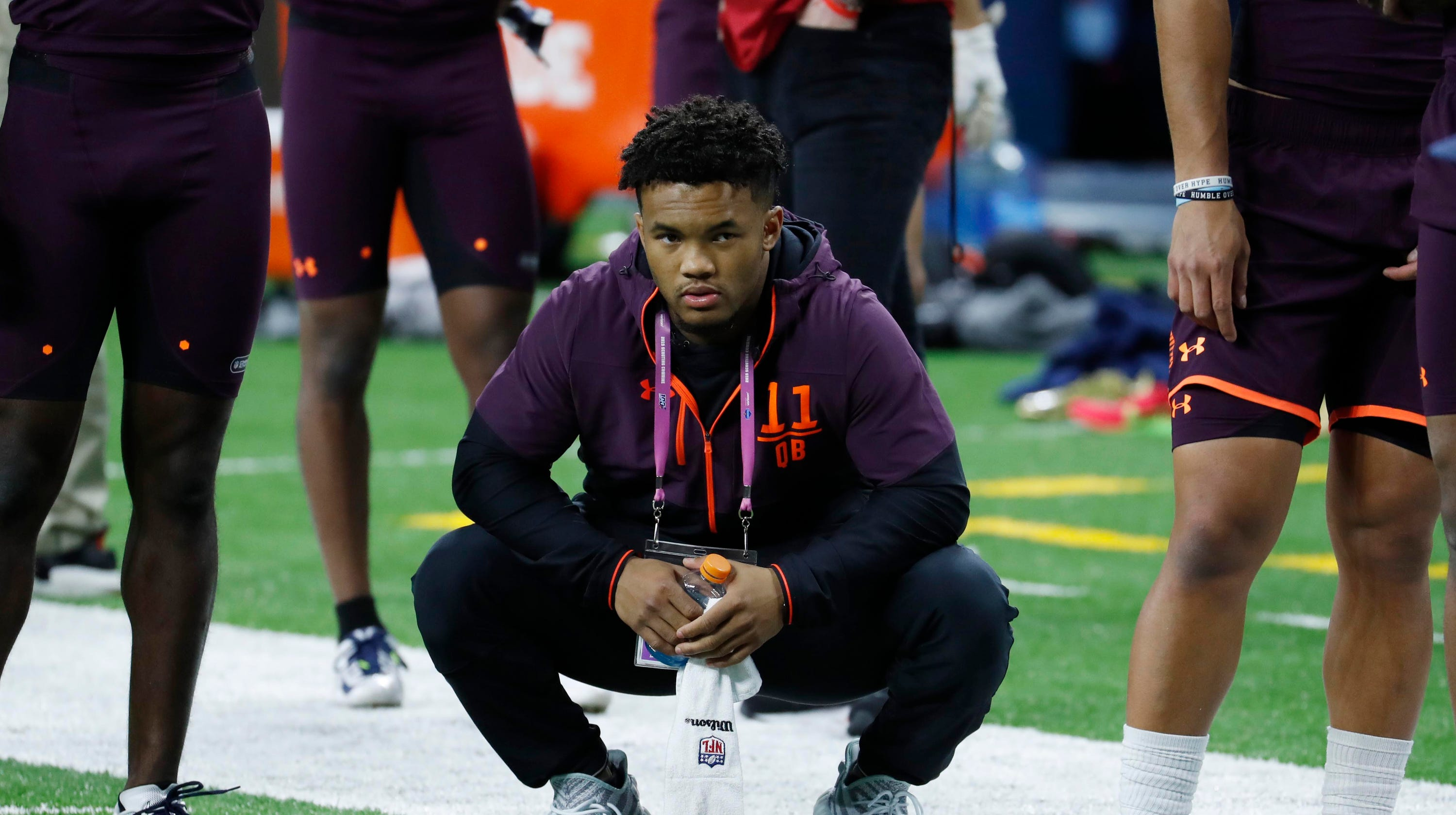 Kyler Murray NFL combine height measurement questioned 2019 NFL draft e158f251a2