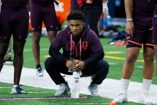 Oklahoma quarterback Kyler Murray could be the first pick in the 2019 NFL draft.