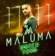 Maluma hará explotar su música en Phoenix, el 21 de septiembre.