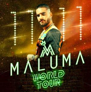Maluma will include El Paso on his North American tour.