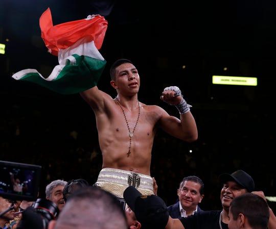 Jaime Munguía ya es un ídolo mexicano en el boxeo.