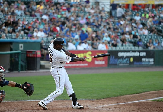 Revs manager Mark Mason announced the team has re-signed all-star outfielder Welington Dotel.