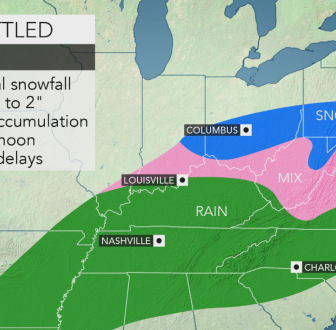 Is winter over yet? Another round of snow headed for central Pa. Friday