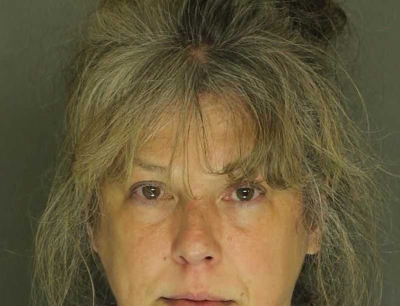 Frances Shobert, arrested for retail theft.