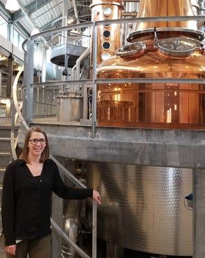 KassaDee Herring of Yerington is the quality assurance analyst at Bently Heritage Estate Distillery in Minden.