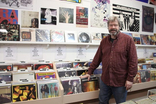 Geoff Dwyer opened indie music store Trader Shag's Emporium at 84 Main St. in Brockport in October 1997. The store is still going strong.