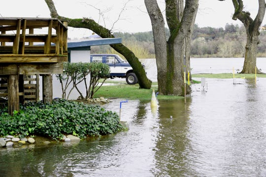 About 20 residents of the Marina RV Park off Park Marina Drive in Redding have been evacuated due to the Sacramento River running high from increased water releases from Lake Shasta through the Shasta and Keswick dams.
