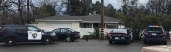 Redding Police said this is one of two suspected drug houses that they cracked down on recently.
