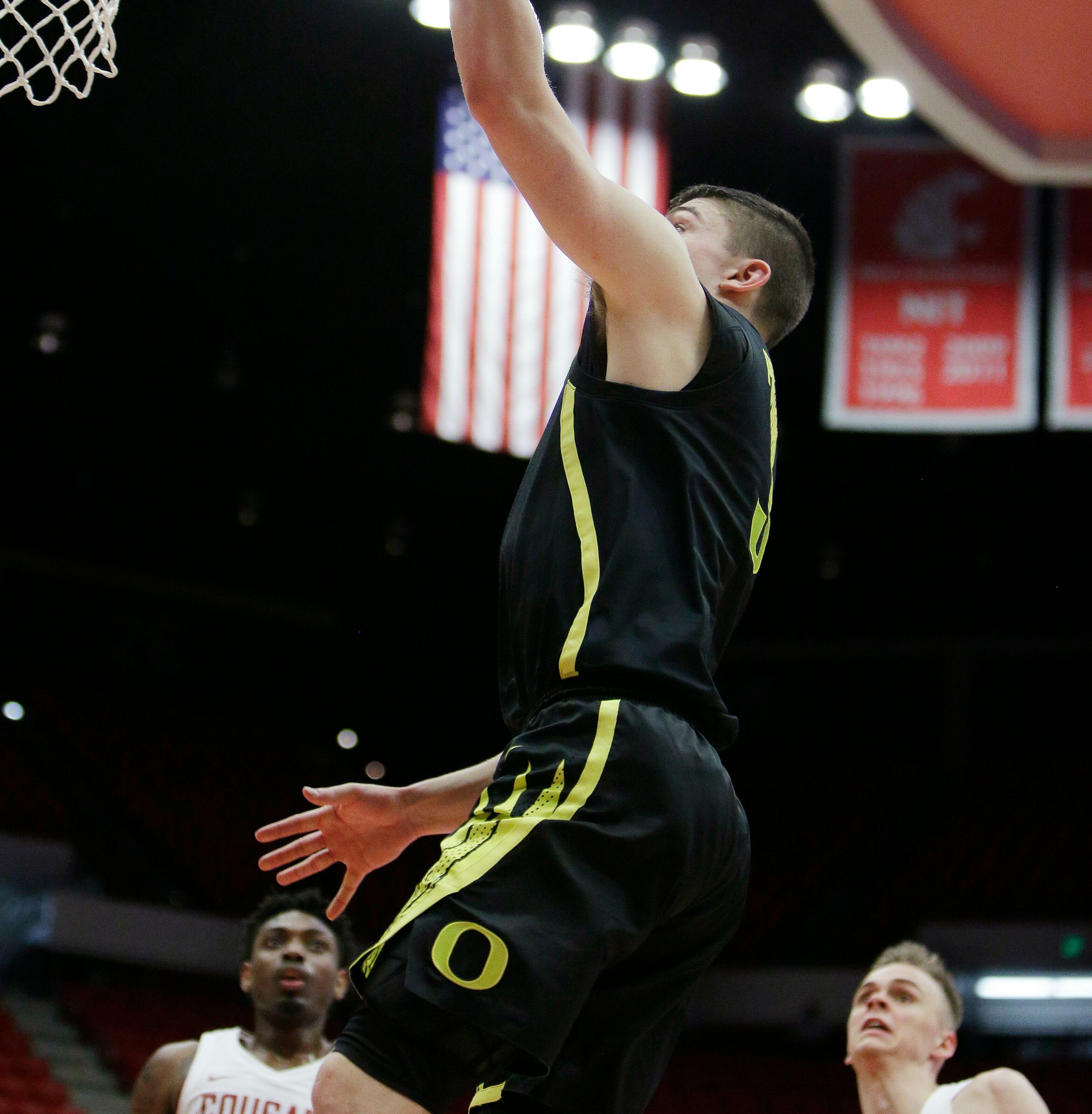 Ducks basketball: Oregon tops Washington State 72-61
