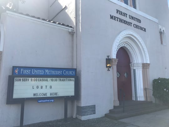 First United Methodist Church is standing by the LGBTQ community.