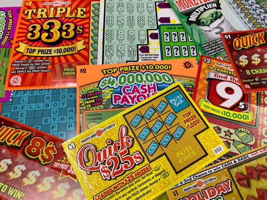 Image result for scratch off lotto tickets