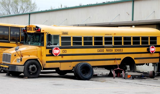 Caddo Parish School District proposed the purchase of 250 school buses