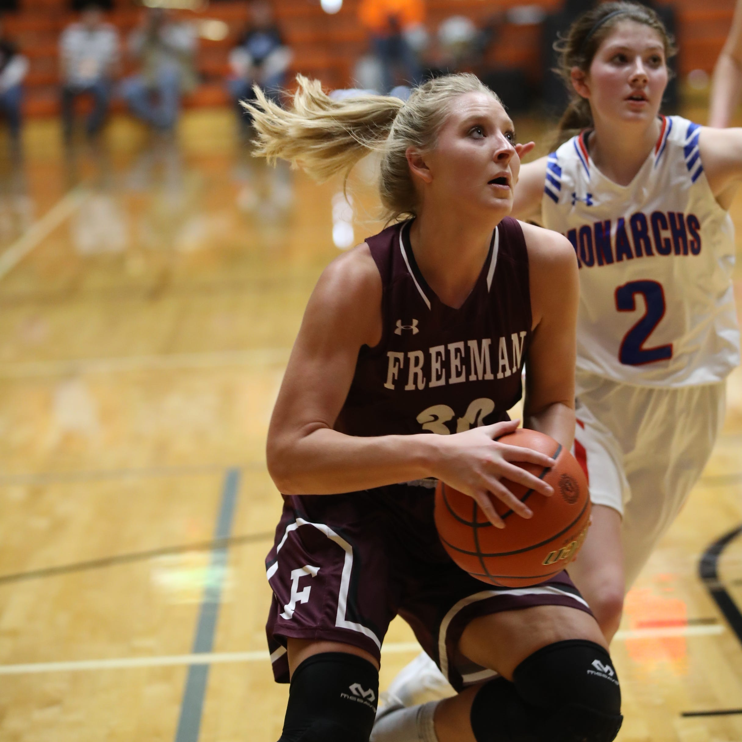 Class B girls roundup: Freeman advances to state semifinals for first-time ever