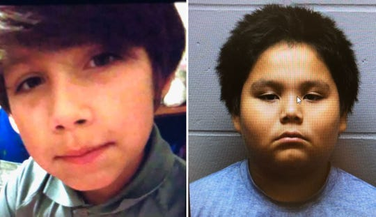 Eric Hopkins (left) and Nolan Huapapi were last seen at Hayward Elementary School in Sioux Falls on Wednesday, March 7, 2019.