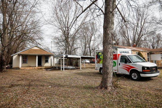 A man died in a house fire on the 2900 block of Elm Street on Thursday, March 7, 2019.