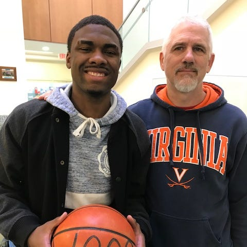 VSDB's Tishawn Manning eclipses 1,000 point plateau