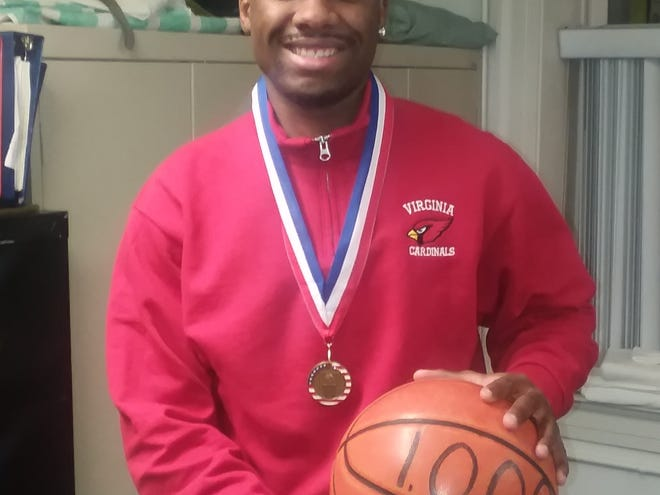 VSDB's Tishawn Manning finished his high school basketball career with more than 1,000 points.