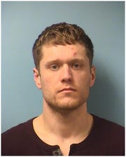 Mitchell Gordon Vipond, 27, of Alexandria booked on drug charges.