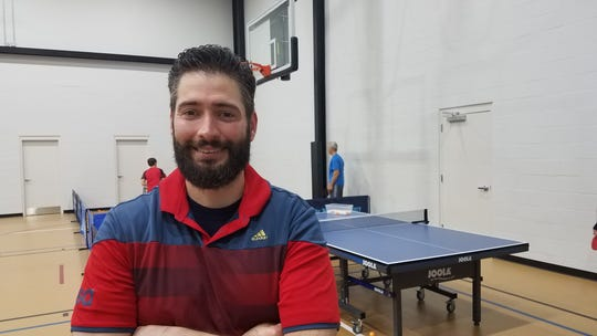 Logan Zimmerman is one of three partners in Tallahassee Table Tennis.