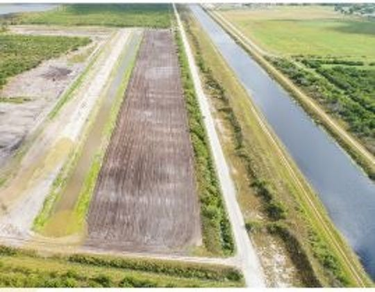 The McCarty Ranch Extension Water Quality Project: This project will minimize the fresh water and nutrient discharges into the C-23 Canal, and then, into the North Fork of the St. Lucie River.