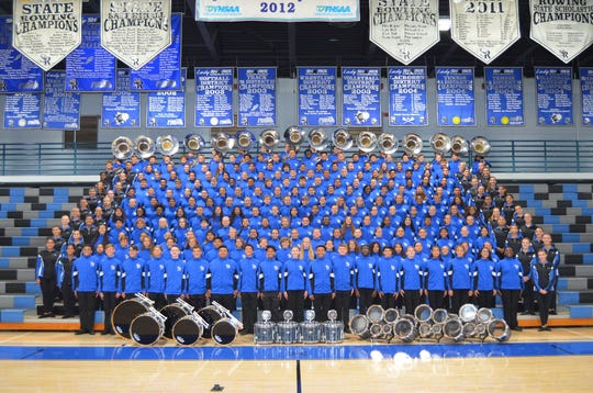 The Sebastian River High School Marching Sharks will march in the New York City St. Patrick's Day Parade on Saturday, March 16.