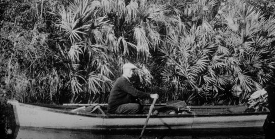 From his home in Sebastian, Paul Kroegel could watch over Pelican Island.  In 1903 when Pelican Island became the nation's first wildlife refuge, Kroegel was named the official refuge manager.