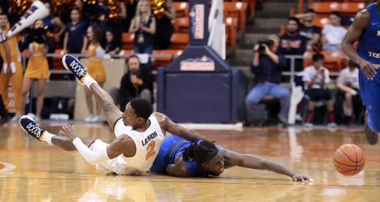 The UTEP Miners lost to Middle Tennessee on Wednesday, March 6, 2019, the day they said farewell to the lone senior, Paul Thomas.