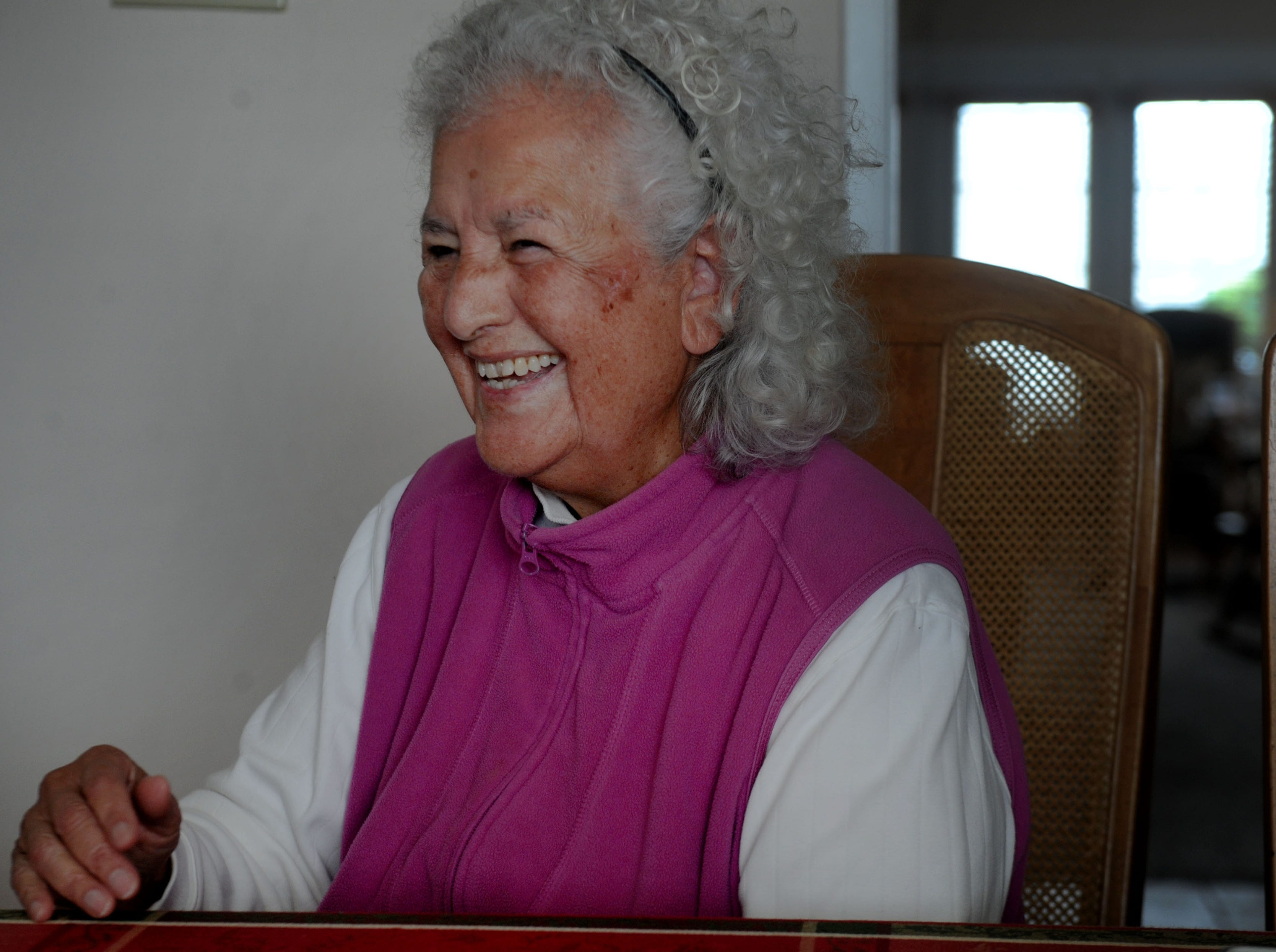 Oxnard activist Lupe Anguiano laughs a little as she looks back on her life. Anguiano, who turns 90 this week, is a founding member of the National Women's Political Caucus working alongside Gloria Steinem, Bella Abzug, Jean Stapleton, and Coretta Scott King.
