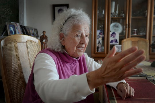 Oxnard activist Lupe Anguiano talks about her political views. She celebrates 90th birthday this week.