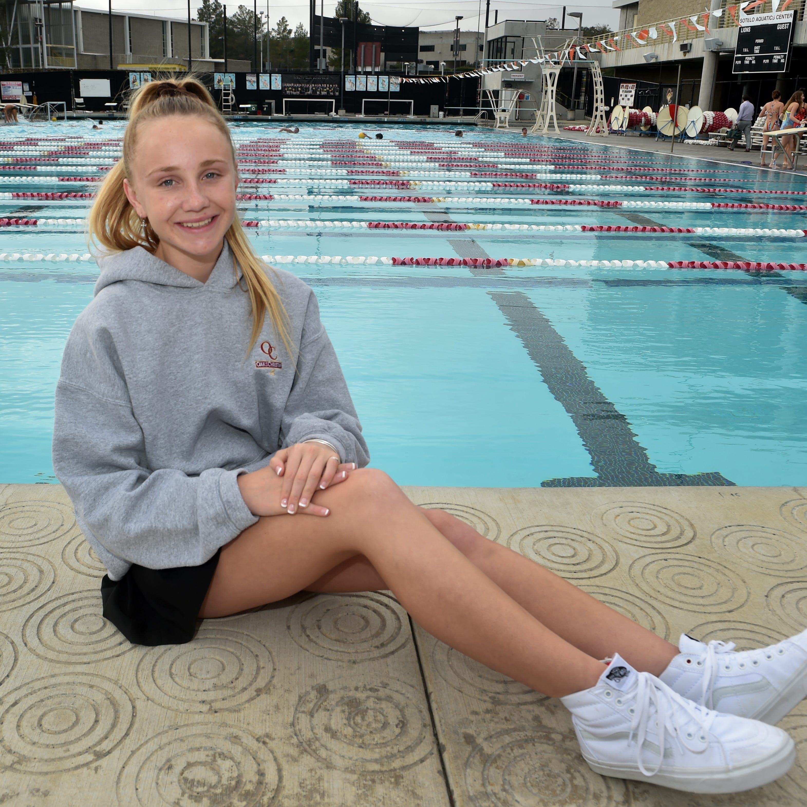 Oaks Christian's Gracie Hurst is The Star's Girls Water Polo Player of the Year