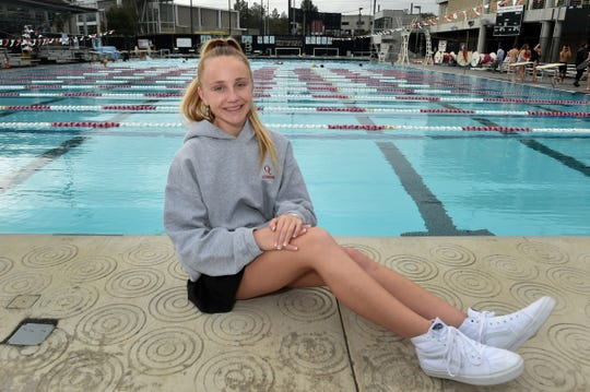 Gracie Hurst was a force in the pool in her sophomore season, helping Oaks Christian win its first CIF-Southern Section girls water polo title.
