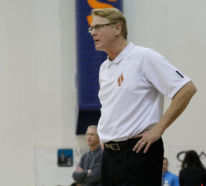 Rusty Smith is the head coach of the College of the Sequoias men's basketball team.