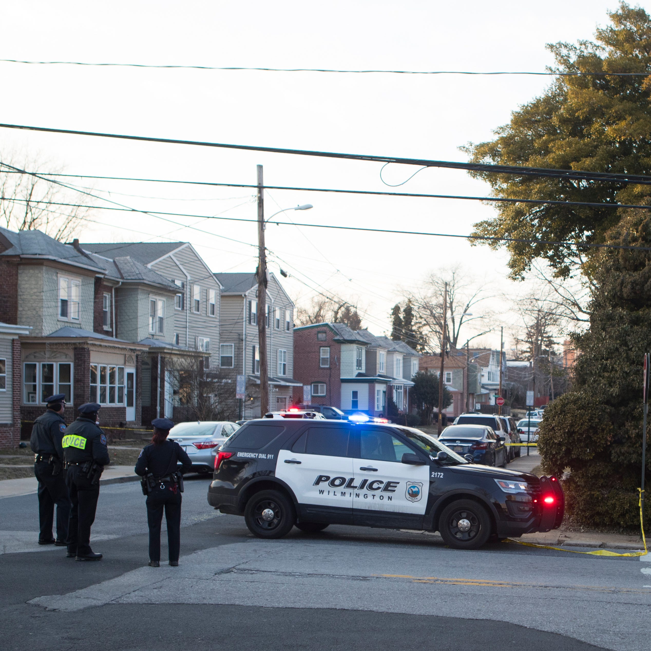 Wilmington Police investigating two shootings that appear to be a domestic incident, woman in critical condition