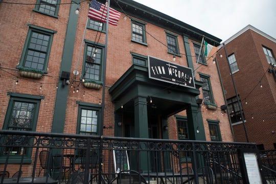 Finn McCool's on Main Street in Newark.