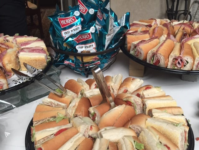 At a celebration of life for Beau Biden in 2015, Capriotti's subs were served.