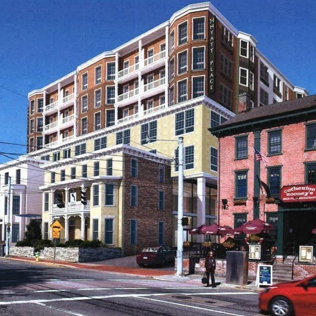 Controversial 7-story hotel proposed for Main Street in Newark
