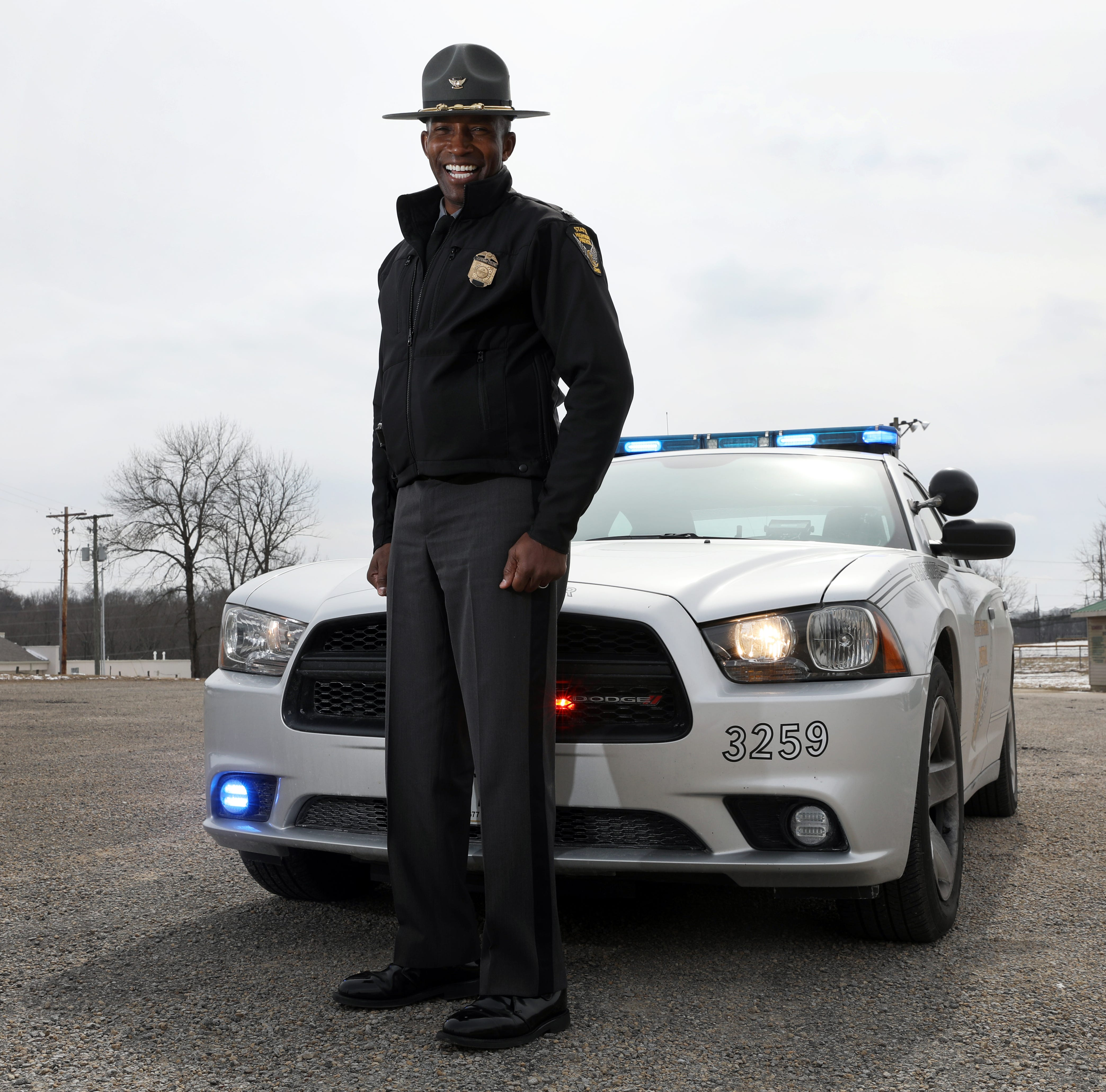 From humble beginnings to the State Patrol's top spot