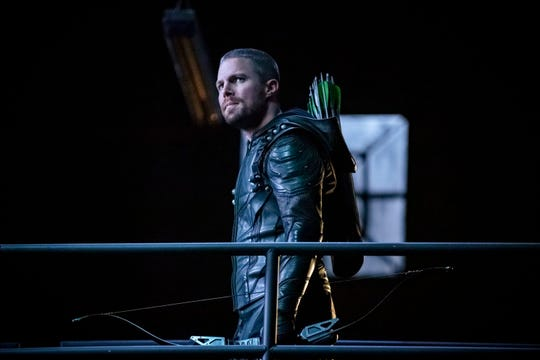 Stephen Amell plays Oliver Queen/Green Arrow in CW's 'Arrow.'